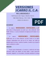 Inversiones Tentucarro II 6