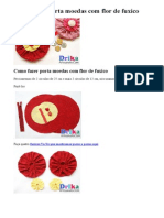 Como fazer porta moedas com flor de fuxico.doc