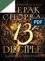 The 13th Disciple by Deepak Chopra (an excerpt)
