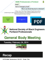 feb'15 general body meeting