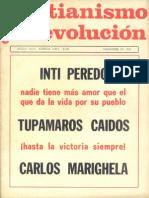 Cristianismo y Revolucion Nº 21 Año 1969