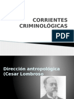 Corrientes Criminológicas
