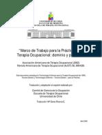 MarcoTrabajoAOTA Traducci n Escuela de to 2006