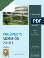 Maestria en Arqueologia Andina 2015-I