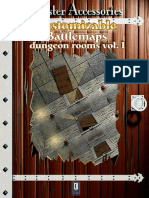 (Map Tiles) Master Accessories-Customizable Battlemaps-Dungeon Rooms Volume 1