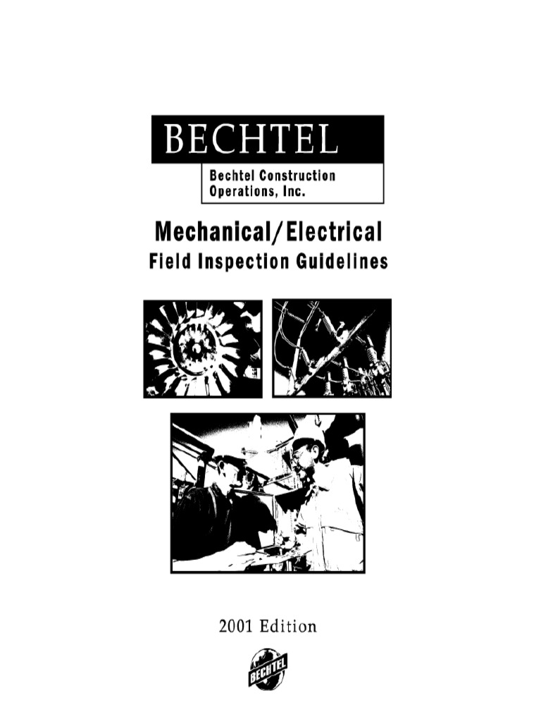 Mechanical and Electrical Field Inspection Guideline