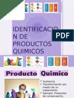 Identificacion de Productos Quimicos