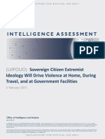 Sovereign Citizen Extremist Ideology Report 2-5-15