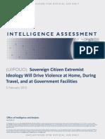 Sovereign Citizen Extremist Ideology Report 2-5-15