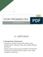 probabilitas teori
