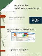 Diferencia Entre Navegadores y JavaScript