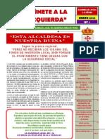 Boletín IU Férez. Enero 2010  Nº 1