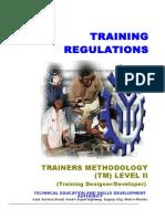 TR Trainers Methodology Level II (1)