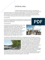 Trust for the National Mall - Milestones One-Pager