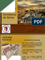 Arquitectura doméstica Roma