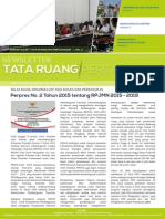 Newsletter Tata Ruang dan Pertanahan Edisi Februari 2015