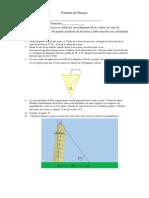 Examen de Ensayo1.3  geometr{ia