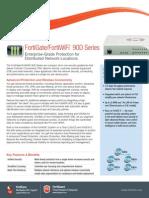 Brochure FortiGate 90D