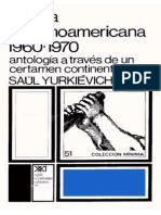 Saúl Yurkievich - Antología de La Poesía Hispanoamerica 1960-1970