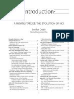 A Moving Target- Evolution of HCI