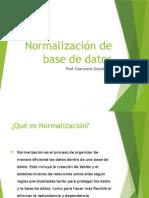Sesion 11 Normalizacion de Base de Datos