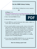 tip 5 how to use the okms library catalog