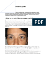 El Estrabismo Convergente 1.2