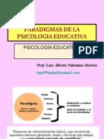 Paradigmas de La Psicologia Educativa.