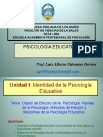 Objeto de La Ps. Educativa