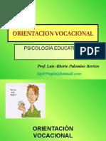 ORIENTACIÓN VOCACIONAL