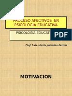 Procesos Afectivos y Aprendizaje