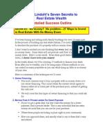 Seven Secrets to Real Estate Wealth
