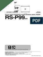 Pioneer  RS-P99.pdf