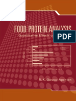 FOOD PROTEIN ANALYSIS. Quantitative Effects on Processing