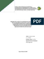 AscaMEMORIA DE LA PRACTICA PROFESIONAL REALIZADA EN EDUCACIÓN ESPECIALIDAD EDUCACIÓN FÍSICA DE  LA UNIVERSIDAD PEDAGÓGICA EXPERIMENTAL  LIBERTADOR- INSTITUTO DE MEJORAMIENTO  PROFESIONAL DEL MAGISTERIO NÚCLEO  BOLÍVAR CENTRO DE ATENCIÓN PIAR.nio Memoria