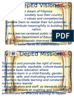 DepEd Vision And Mission