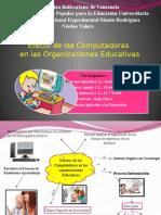 Efectos de las computadoras en las organizaciones educativas 141005202217 Conversion Gate01