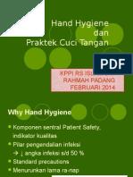 Sosialisasi Hand Hygiene Untuk Karyawan Rumah Sakit