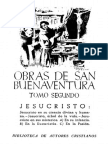Obras de San Buenaventura Tomo II a - BAC 1946