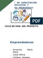Ciclo de Vida Del Proyecto Centro de Capacitación