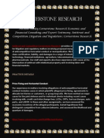Antitrust and Competition Litigation and Regulation Cornerstone Research