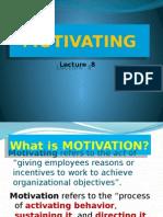 8 Motivating