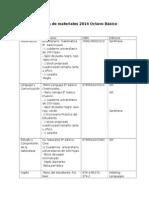 20140106105205 Lista de Materiales 2014 Octavo Basico