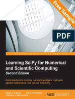 Learning SciPy for Numerical and Scientific Computing - Second Edition - Sample Chapter
