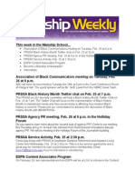 manship weekly 2 22