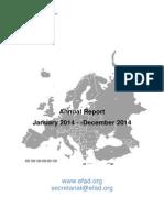 EFAD Annual Report 2014