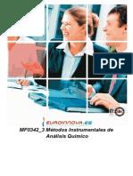 Mf0342 3 Metodos Instrumentales de Analisis Quimico a Distancia
