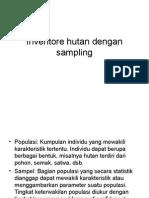Inventarisasi Hutan Dengan Sampling Revisi