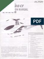 Align t Rex 600 Manual