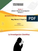 Ayuda 2 Niveles de Investigación I UAP